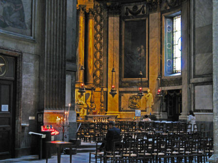 Saint-Sulprice Church, Paris (La Da Vinci Code)