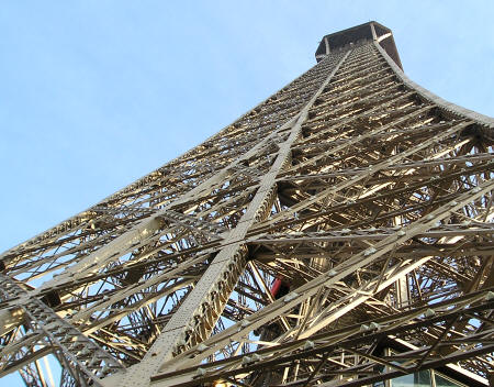 Engineering of the Eiffel Tower in Paris