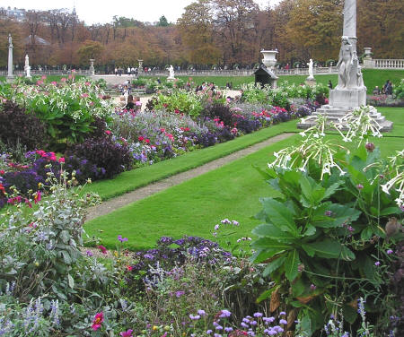 Jardin De Luxembourg Paris France