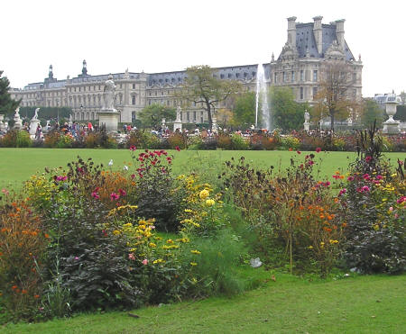 Jardin des tuileries paris france for Jardin tuileries