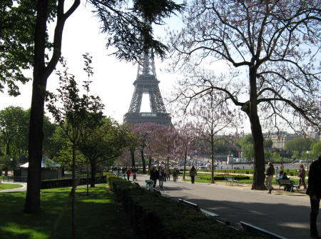 Jardin du trocadero in paris france for Jardin jardin paris