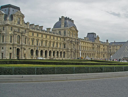 Richelieu Wing of the Louvre Museum, Paris